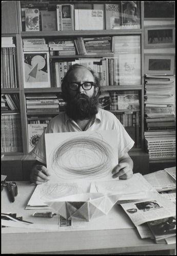 Julius Koller:  Meditation (U.F.O.), 1983