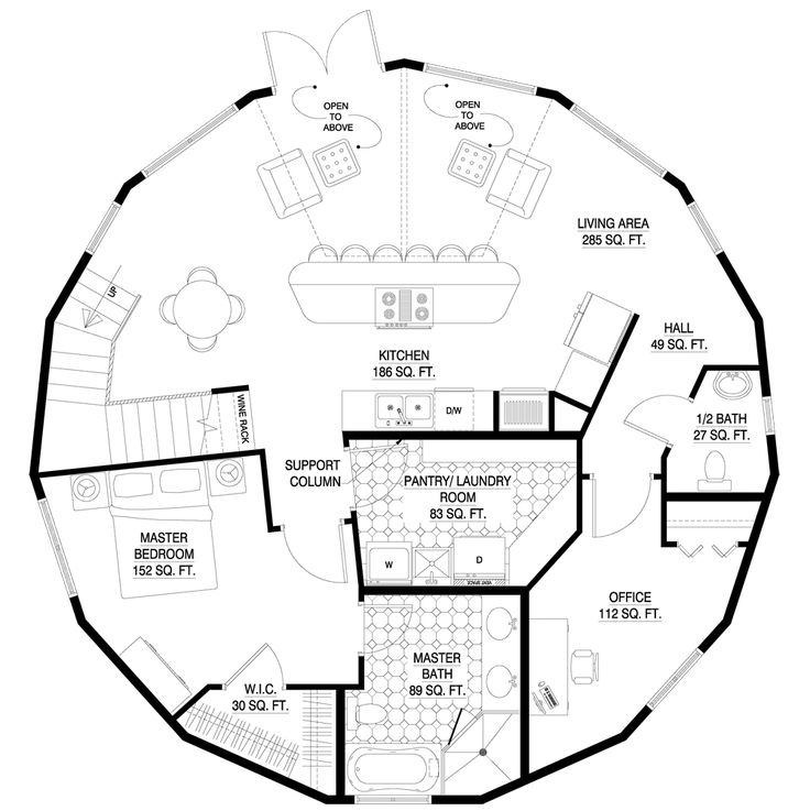 181 best circular home designs images on pinterest cob houses dome house and round house plans - Hurricane proof homes design ...