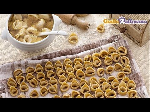 Tortellini - original Italian recipe - YouTube