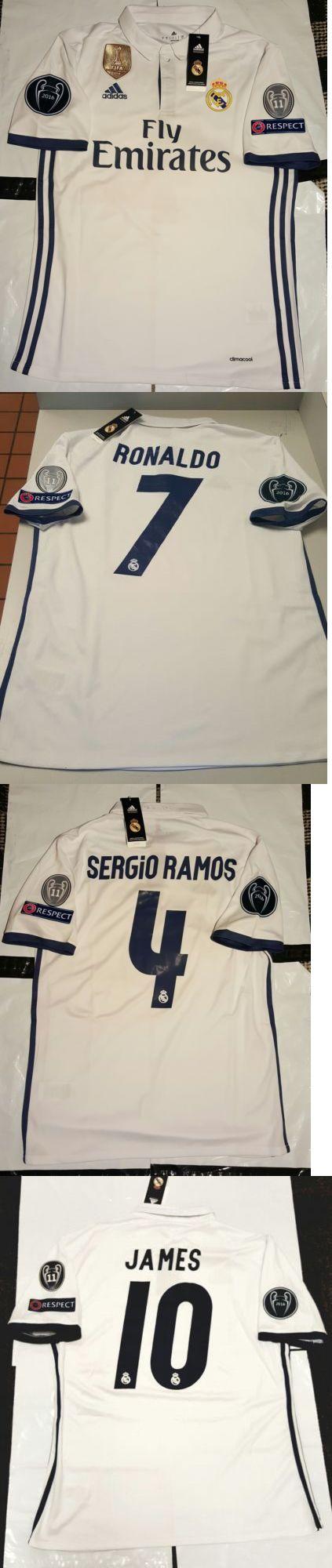 Men 123490: 2017 Real Madrid Soccer Jersey Camisa De Futbol De Real Madrid -> BUY IT NOW ONLY: $64.5 on eBay!