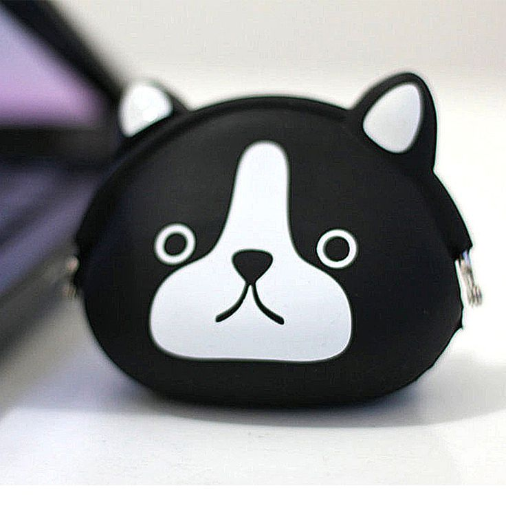 Coin Pouch Anjing Hitam 2 Rp 60.000