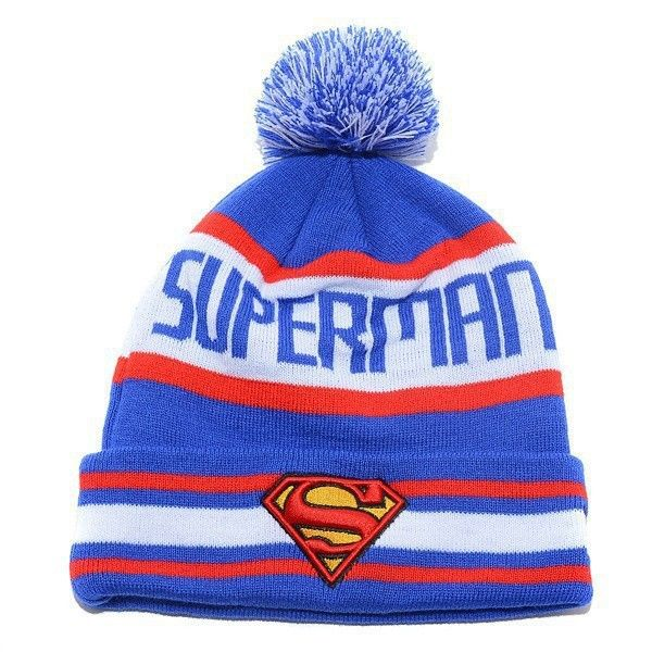 Find More Skullies & Beanies Information about Adults Knitting Superman Beanies Hat Pom Beanies With Words Winter Bonnets For Men Women,High Quality hat cake,China hat quality Suppliers, Cheap beanie brim from Baby Style on Aliexpress.com