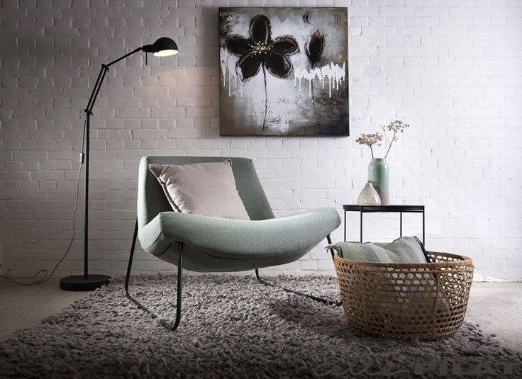 Lage stoffen fauteuil Camiel is bijzonder ruimtelijk - Alle Pilat