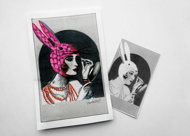 *Zajączek vintage*   #cards #rekodzielo #themqps #handmade #easter  Zapraszam na blog: themqps.blogspot.com do oglądania, komentowania i zamawiania