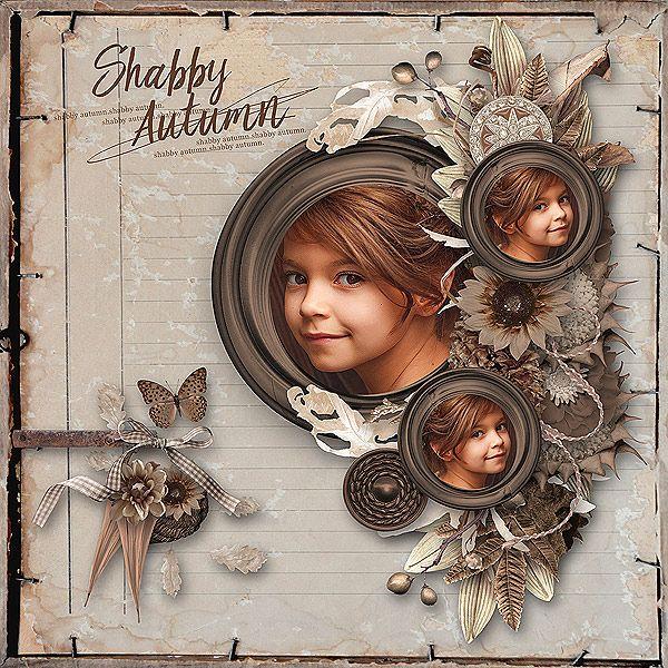 Shabby Autumn - Scrapbook.com