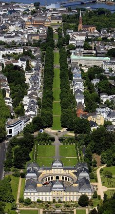 Poppelsdorf Palace and Allee, Bonn, North Rhine-Westphalia, Germany