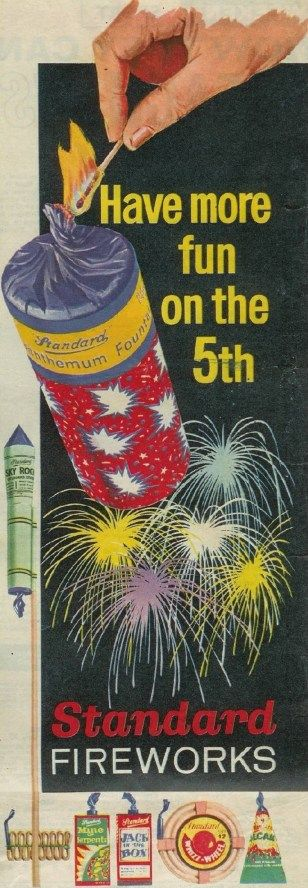 Standard Retail Ad - Have More Fun On The 5th ~ 1963