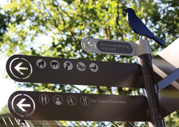 Signage Natura Artis Magistra (Zoo) - Amsterdam on Behance