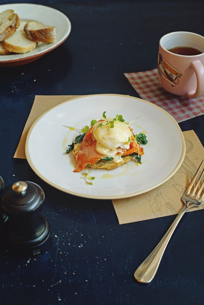 Завтрак в Jamie's Italian #food #breakfast #jamiesitalian #jamieoliver #yummy #morning #fresh #salmon