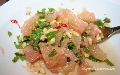 Resep Cara Membuat Salad Jeruk Bali