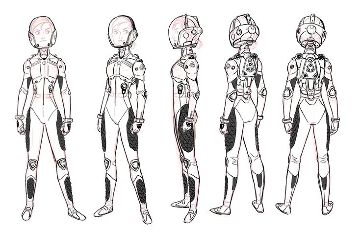 Dr. Callaghan and Abigail in BH6Design of Abigail is inspired by actress Grace Park.