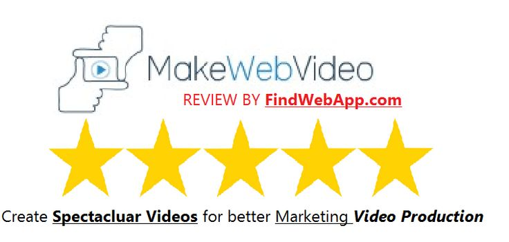 MakeWebVideo Review: Create Spectacular Videos for Marketing Video Production