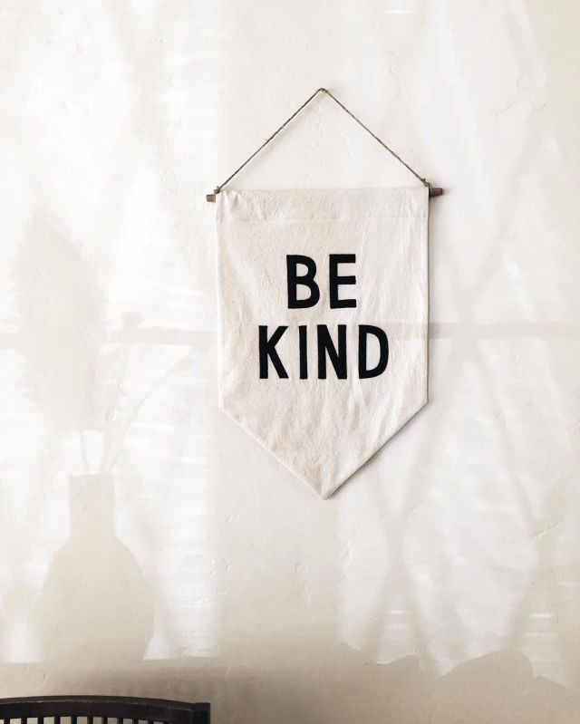 / be kind