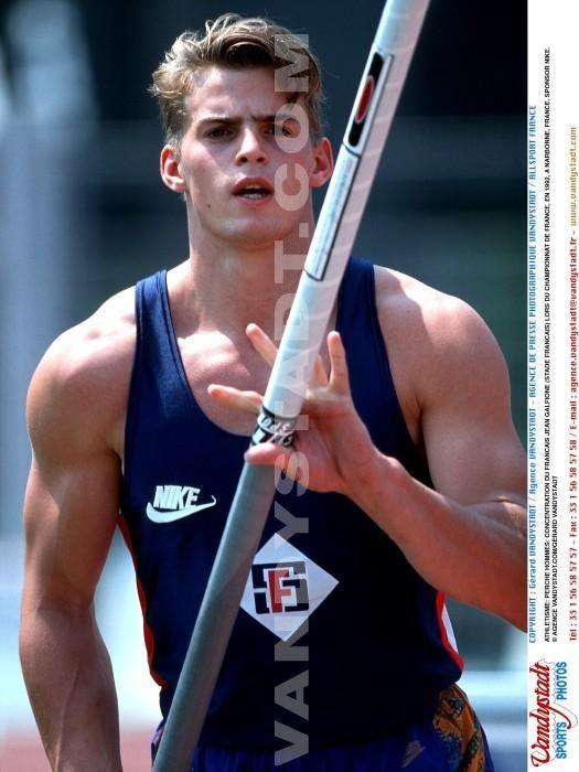 Jean Galfione | Photos - Athletisme - jean galfione - SportQuick. OS guld stav 1996 Atlanta.