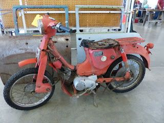 OldMotoDude: 1963 Yamaha Trail Bike for sale for $200 at Vintag...