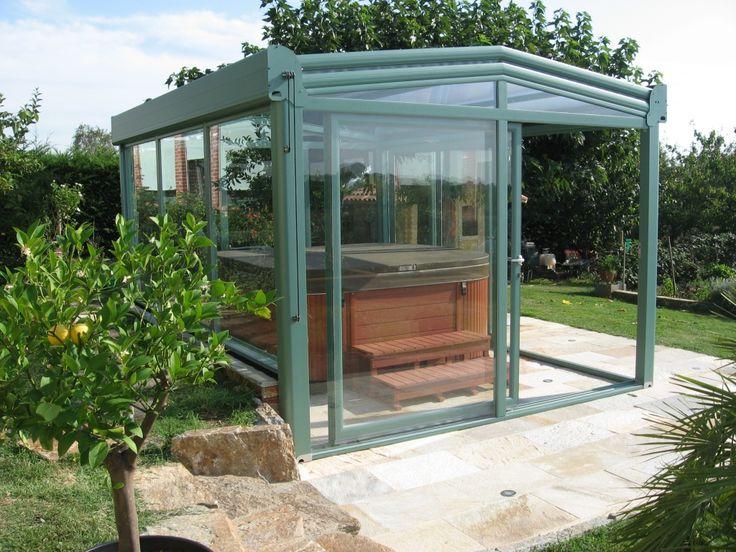 best 25 tub enclosures ideas on pinterest hot tubs. Black Bedroom Furniture Sets. Home Design Ideas