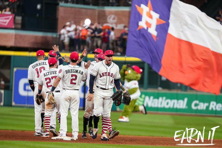 Always fun to beat the Yankees! Go 'Stros!