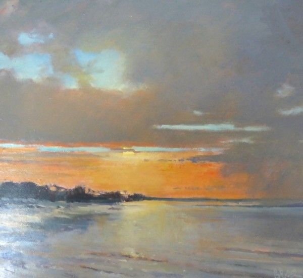 Brian Ryder ROI, PIEA - Gallery Artists - The Hunter Gallery Long Melford, Suffolk