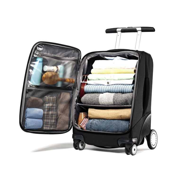 """Samsonite EZ Cart 21"""" This looks like the best suitcase ever thought of!"""