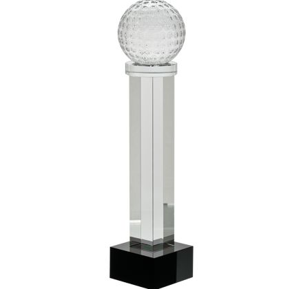 This Tall and Luxurious #Golf Crystal Award is Perfect for Any Golf Competition Winner.  http://www.crownawards.com/StoreFront/GLAGF6.ALL.Crystal_Awards.Golf_Austerity_Crystals.prod