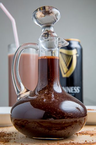 Guinness Chocolate Syrup ~ the alcohol burns off and you're left with the richness of the stout and chocolate!
