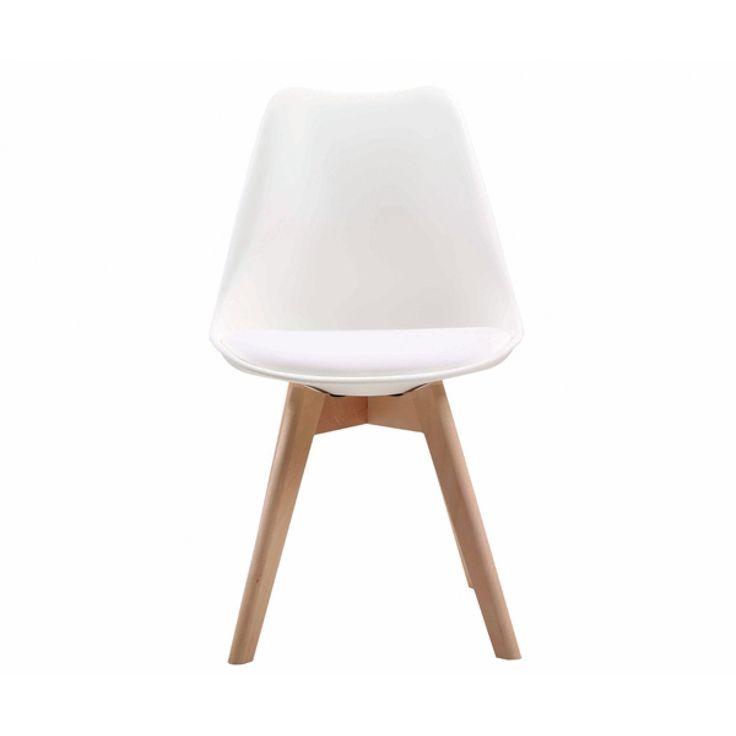 Καρέκλα Martin λευκή