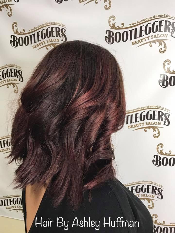 Red Violet Balayage #joicosalon #bootleggersbeautysalon #getyourshineon #burlingtonncsalon #joicocolor #hairtrends #heavyblonde #burlingtonncsalon #takingnewclients #darkhairwithredviolet #beautifulhair #hairprofessionals #balayage #redviolethaircolor