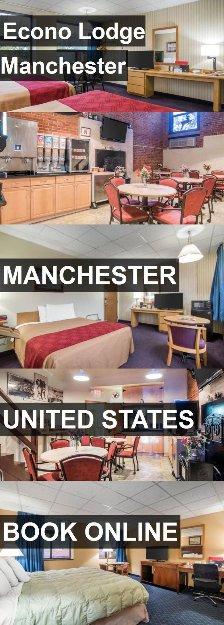 Hotel Econo Lodge Manchester in Manchester, United States. For more information, photos, reviews and best prices please follow the link. #UnitedStates #Manchester #travel #vacation #hotel