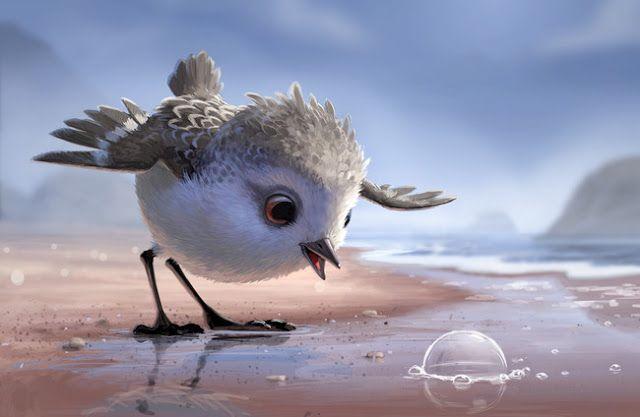 Crea y aprende con Laura: 'Piper', un corto de Pixar sobre la aventura de ap...