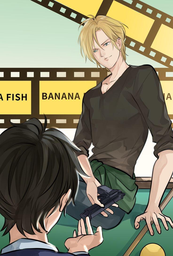 Pin by joud on banana fish fish anime banana