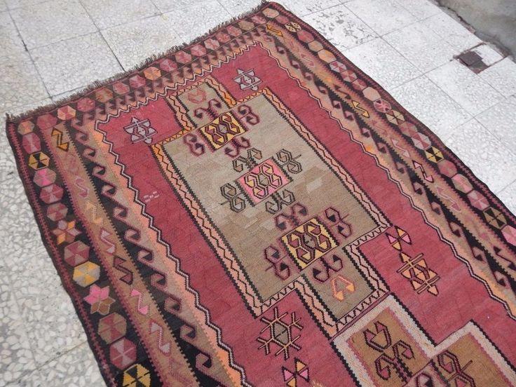 4 6x11 6 Ft Purewool Veg Dye Oriental Large Wide Entryway