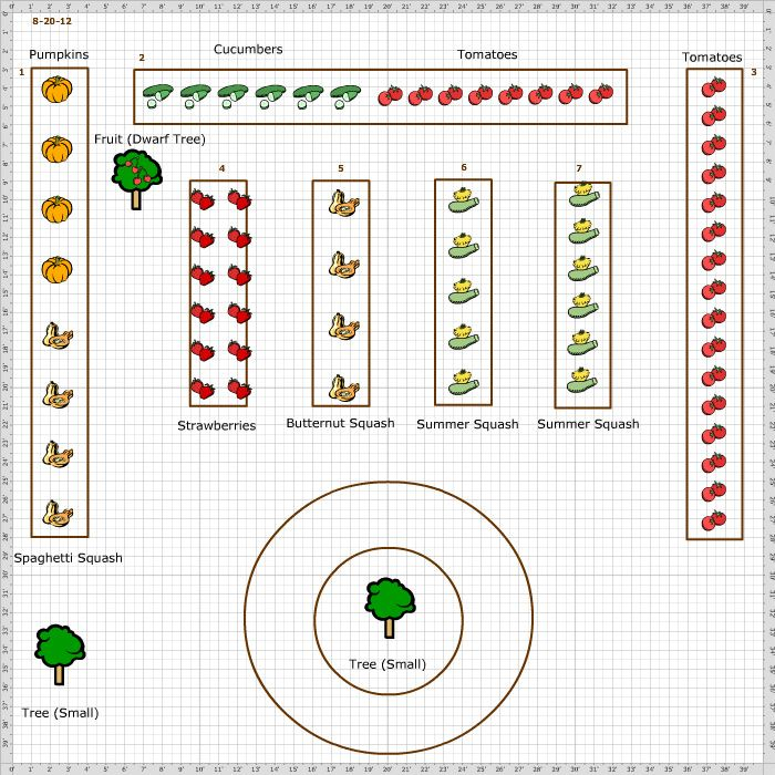 Here's a great example of a school garden plan for an elementary school. (Maybe students can measure space and design a garden layout....best is chosen)