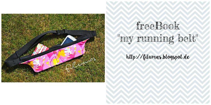 Freebook, for free, diy, tutorial, Anleitung, running belt, my running belt, filumas, ebook, nähen, sewing, Tasche, Hüfttasche, Lauftasche, sport, running