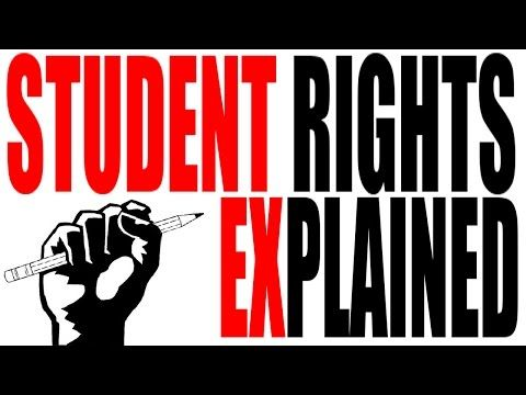 What Are Your Rights in School? Student Rights Explained How much of the Bill of Rights applies to kids in school? In this video we explore the Supreme Courts rulings concerning student rights; from freedom of speech, to privacy to press whatever your opinion is you're gonna want to know the rules. 8 important Supreme Court cases covered! By: Keith Hughes.