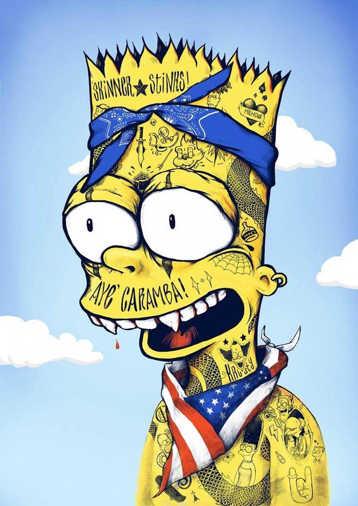 Bootleg Bart – Uma série divertida que mistura Simpsons e cultura pop!