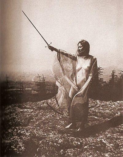 Pagan nude skyclad rituals