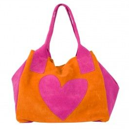 LEATHER BAG HEART