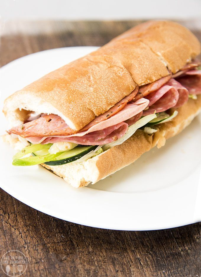 Subway's limited time Italian Hero sandwich is packed full of flavor and perfect for lunch!  #BuildItBetter #ad