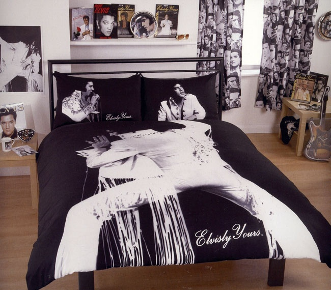 The Bed Elvis Presley Laid Down On