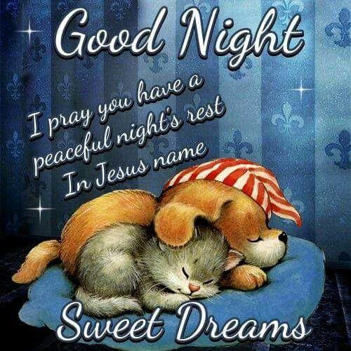 Sleep well and sweet dreams nik :)