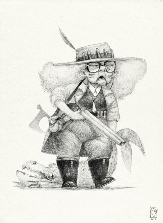 Blad Moran (Sketchtober | 005)
