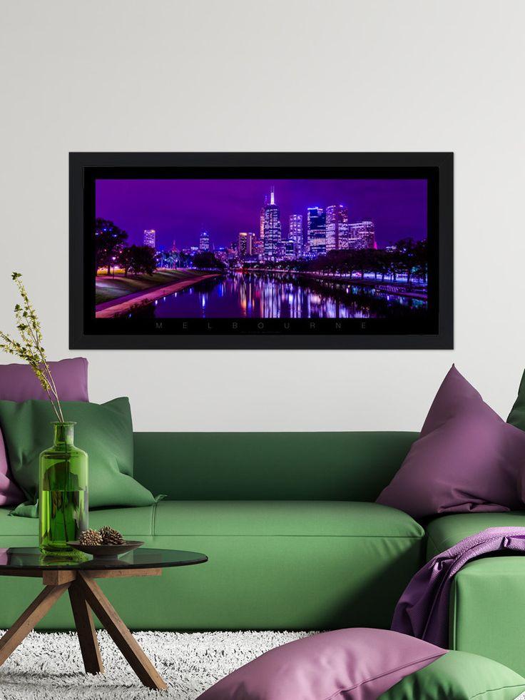 Melbourne City Colour Panoramic
