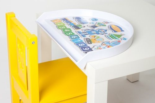 NEW Toddler Trays contain the mess and stress at mealtimes!