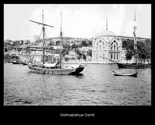 İstanbul-Yıldız Albümleri, Dolmabahçe Camii