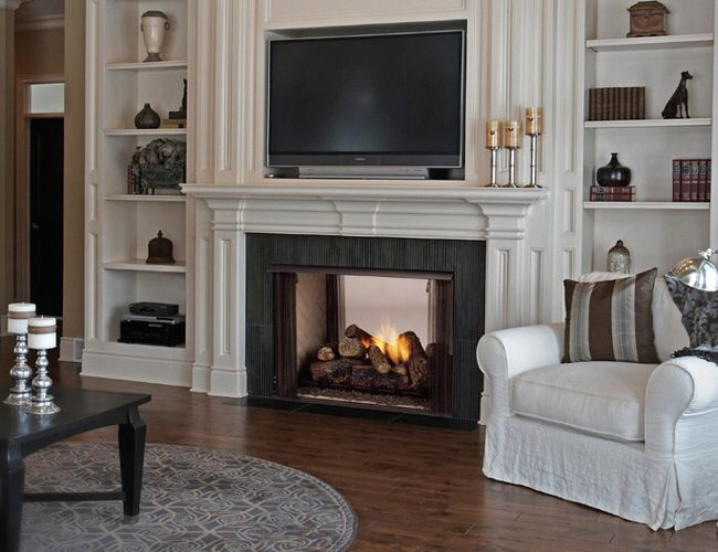 The 25 Best Double Sided Gas Fireplace Ideas On Pinterest Double Sided Fireplace Bathroom