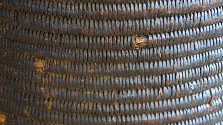 The art of basket making has been practiced in Africa for centuries.
