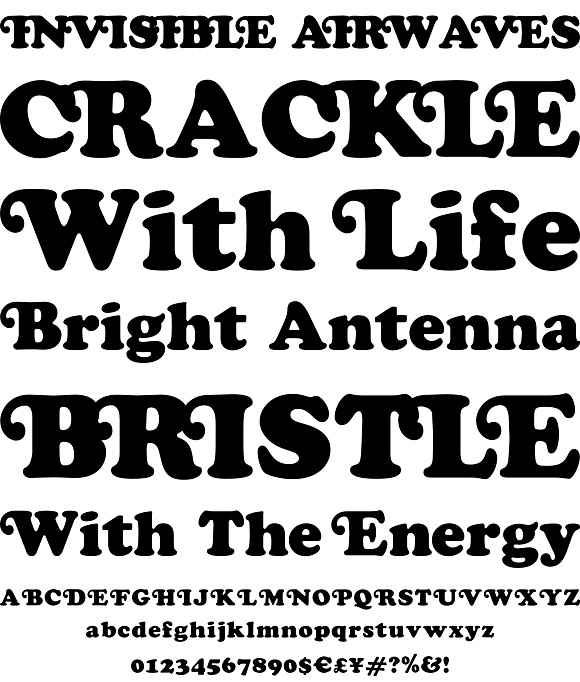 Cooper Black Swash by Wordshape - Desktop Font, WebFont and Mobile Font - YouWorkForThem