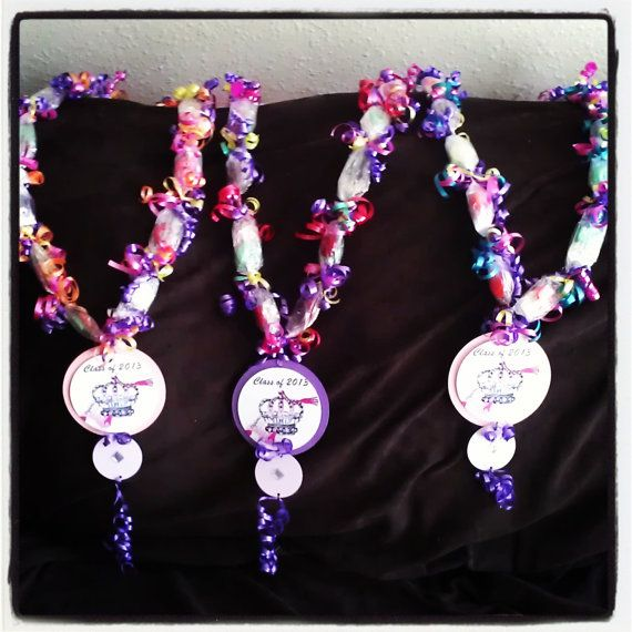 Candy Lei Candy Necklace by HandmadebyFanya on Etsy, $2.86