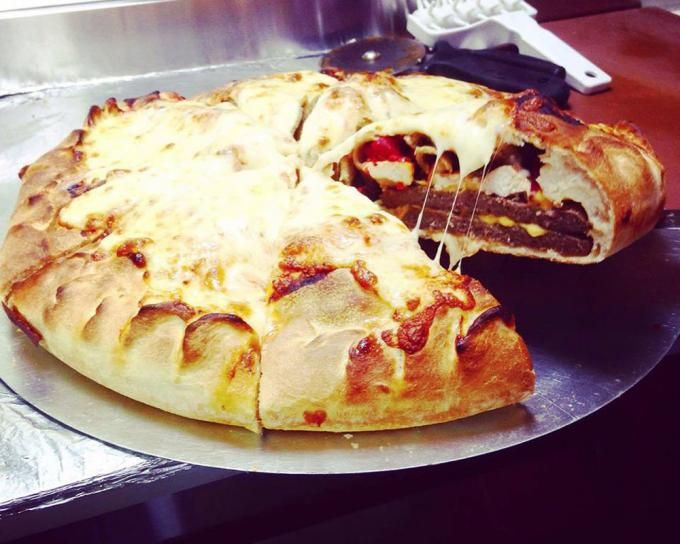 Las pizzas más raras que aún así querrás probar - Pizza burguer ...