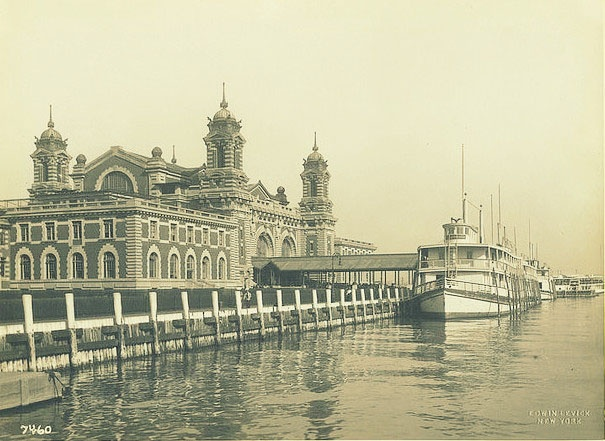 An Illustration Of Ellis Island This Was A Beneficial Addition To Our Countr